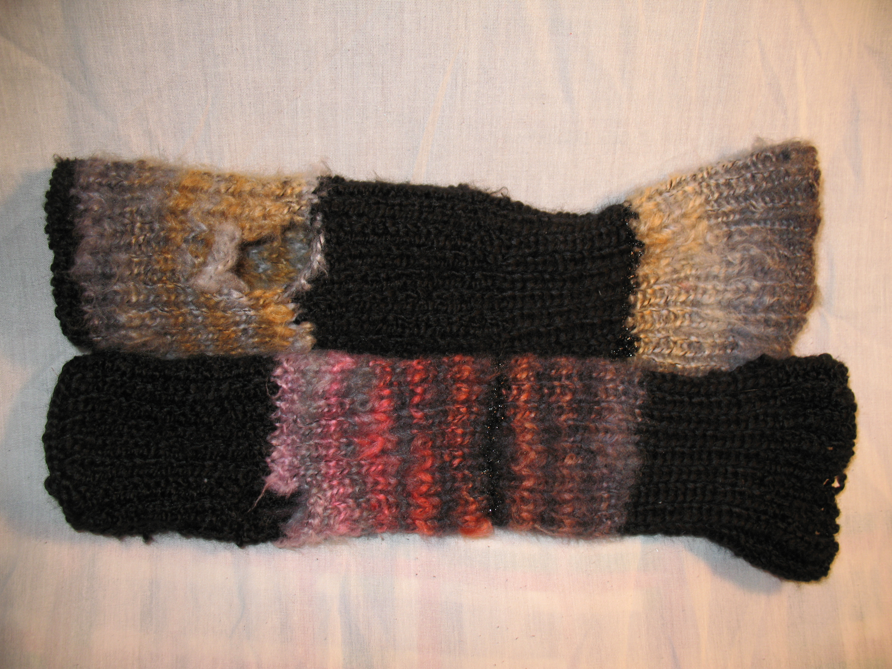 Arm Warmers Knitting Pattern Simple : My first pattern: Easy Knit Ribbed Wrist Warmers Keep Me In Stitchez: The Blog